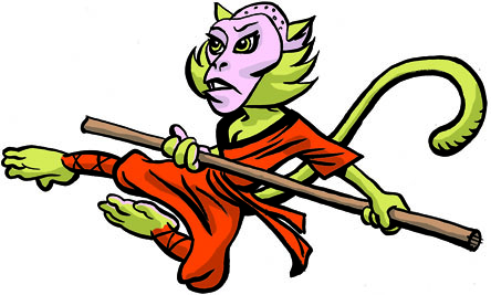 Shaolin Monkey (click to enlarge)
